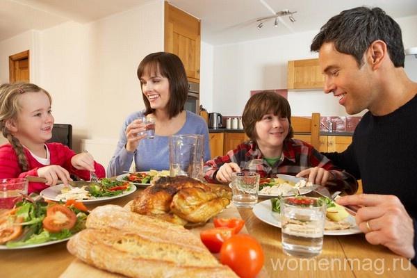 Воскресный семейный обед