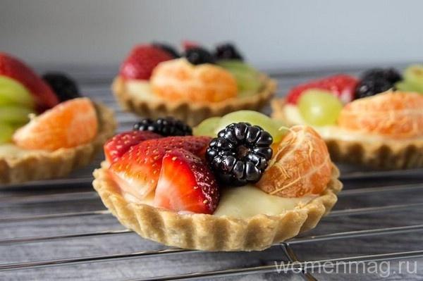Корзиночки с фруктами на детский праздник