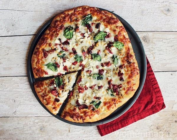 Средиземноморская пицца