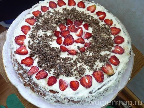 Торт «Белые облака»
