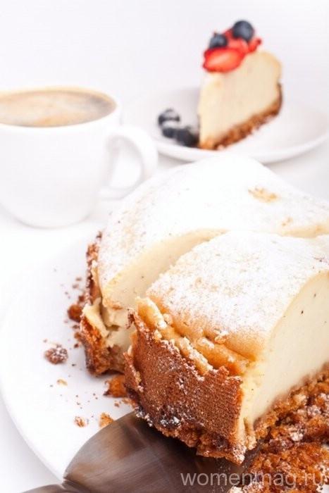 Сырный пирог с печеньем