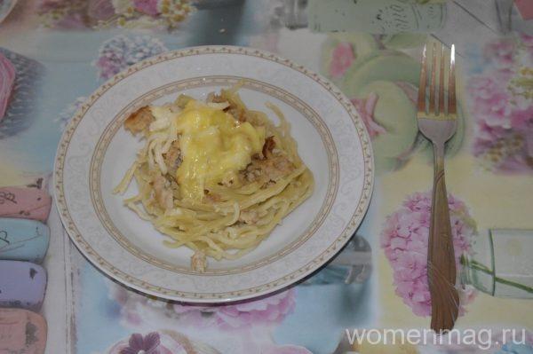 гнезда с мясом в духовке рецепт