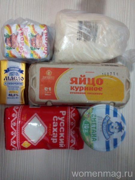 продукты на творожную запеканку