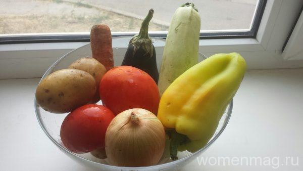 Овощное рагу на скорую руку