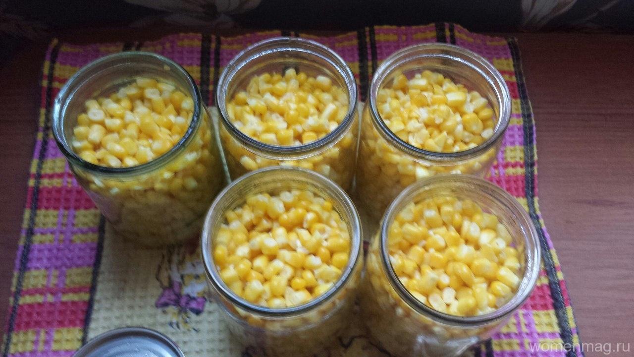 Консервирование кукурузы в домашних условиях в зернах 87