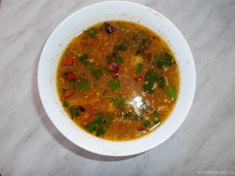 Гречневый суп на курином бульоне рецепт пошагово