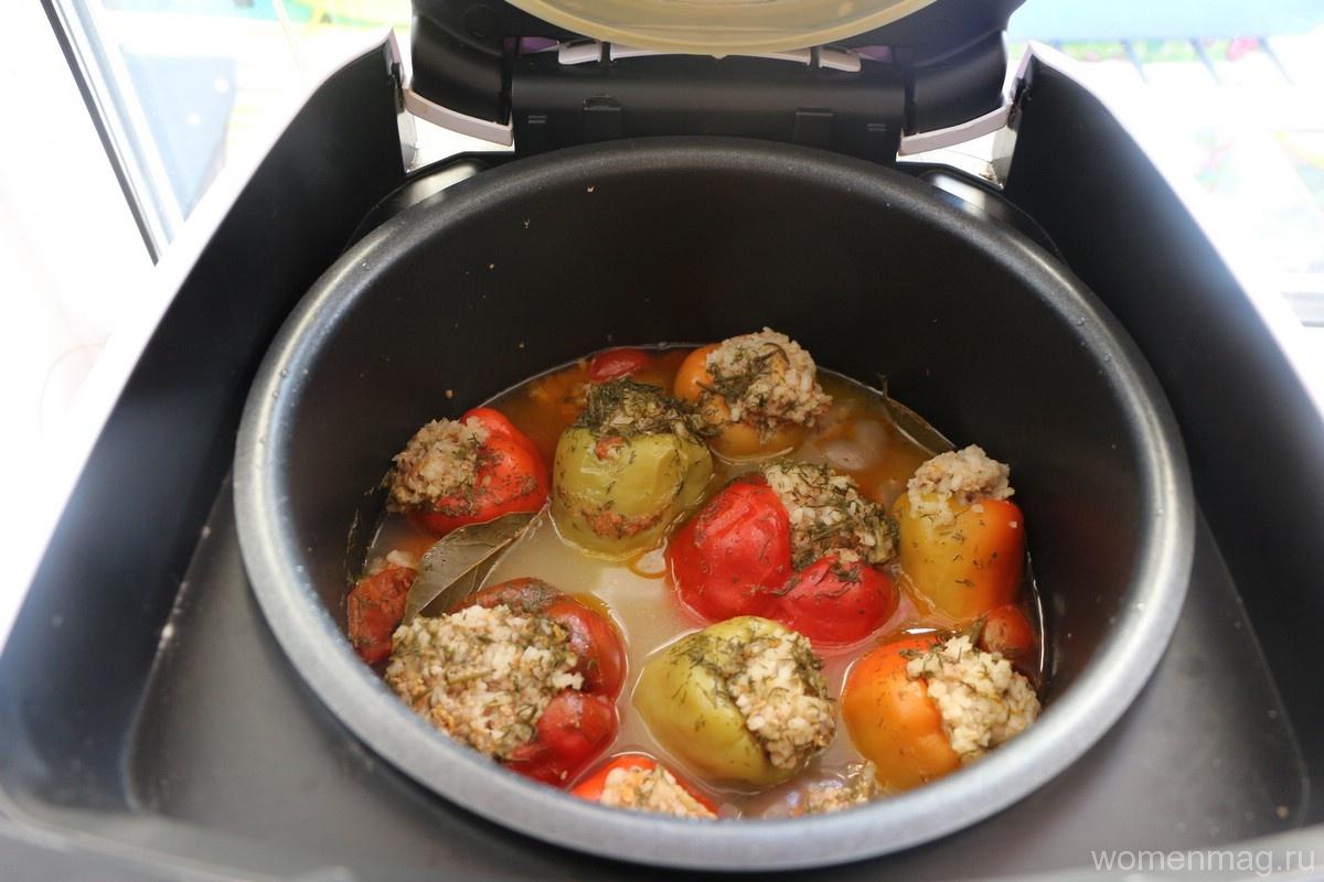 Перец фаршированный рецепт пошагово в мультиварке редмонд