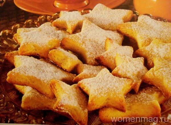 Простейшее домашнее песочное печенье