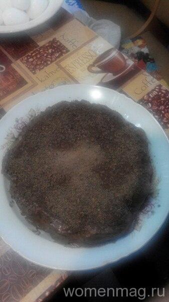 Торт из пряников с бананами «Шоколадная мечта»