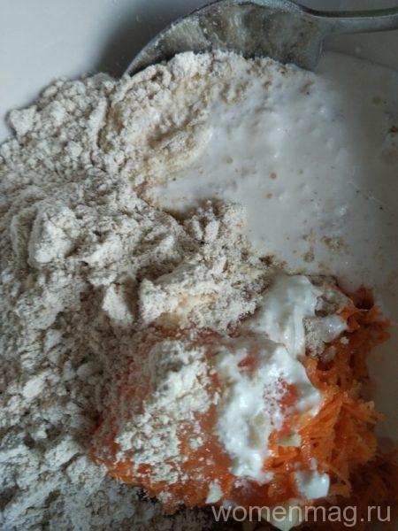 Морковные кексы с арахисом