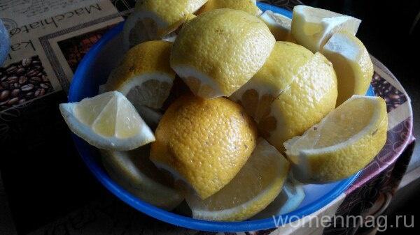 Лимонное варенье на скорую руку