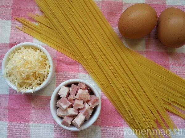 Настоящие спагетти карбонара