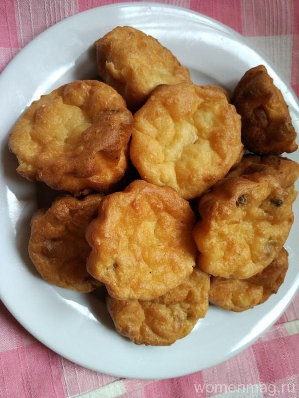 Творожные кексы в духовке в формочках