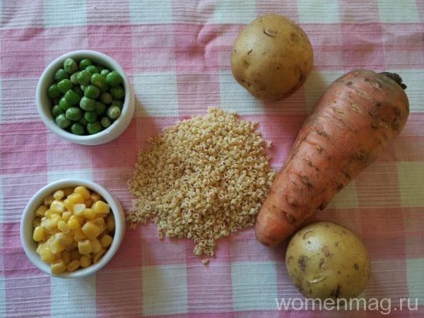 Детский вермишелевый суп