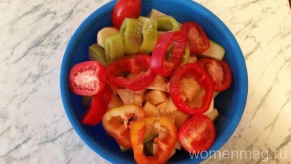 Овощной гратен