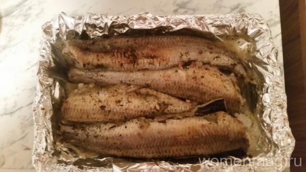 Рыба аргентина в духовке