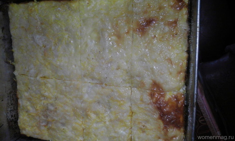 Капустная запеканка с манкой пошаговый рецепт