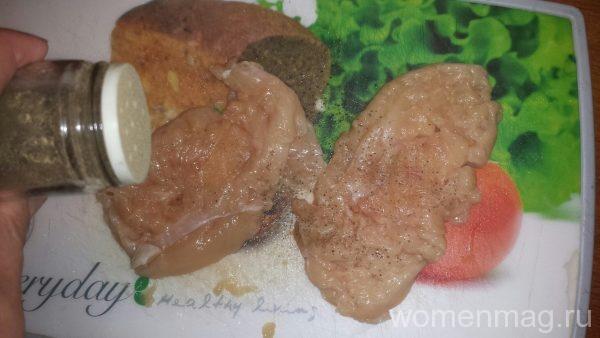 Как сделать отбивные из филе курицы