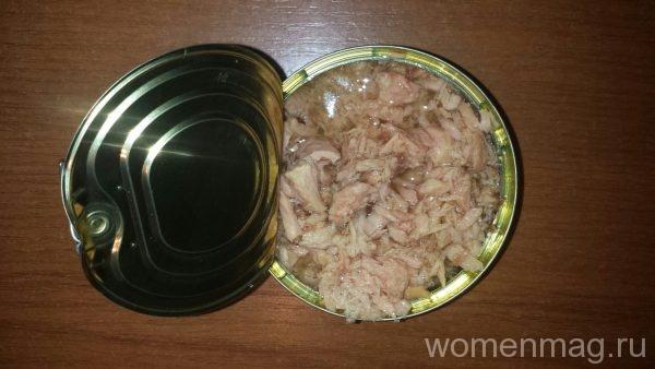 Паста с тунцом консервированным