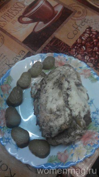 Фаршированная куриная грудка в духовке