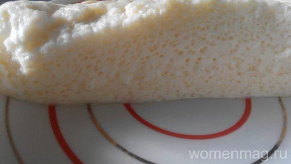 Вареный омлет в пакете