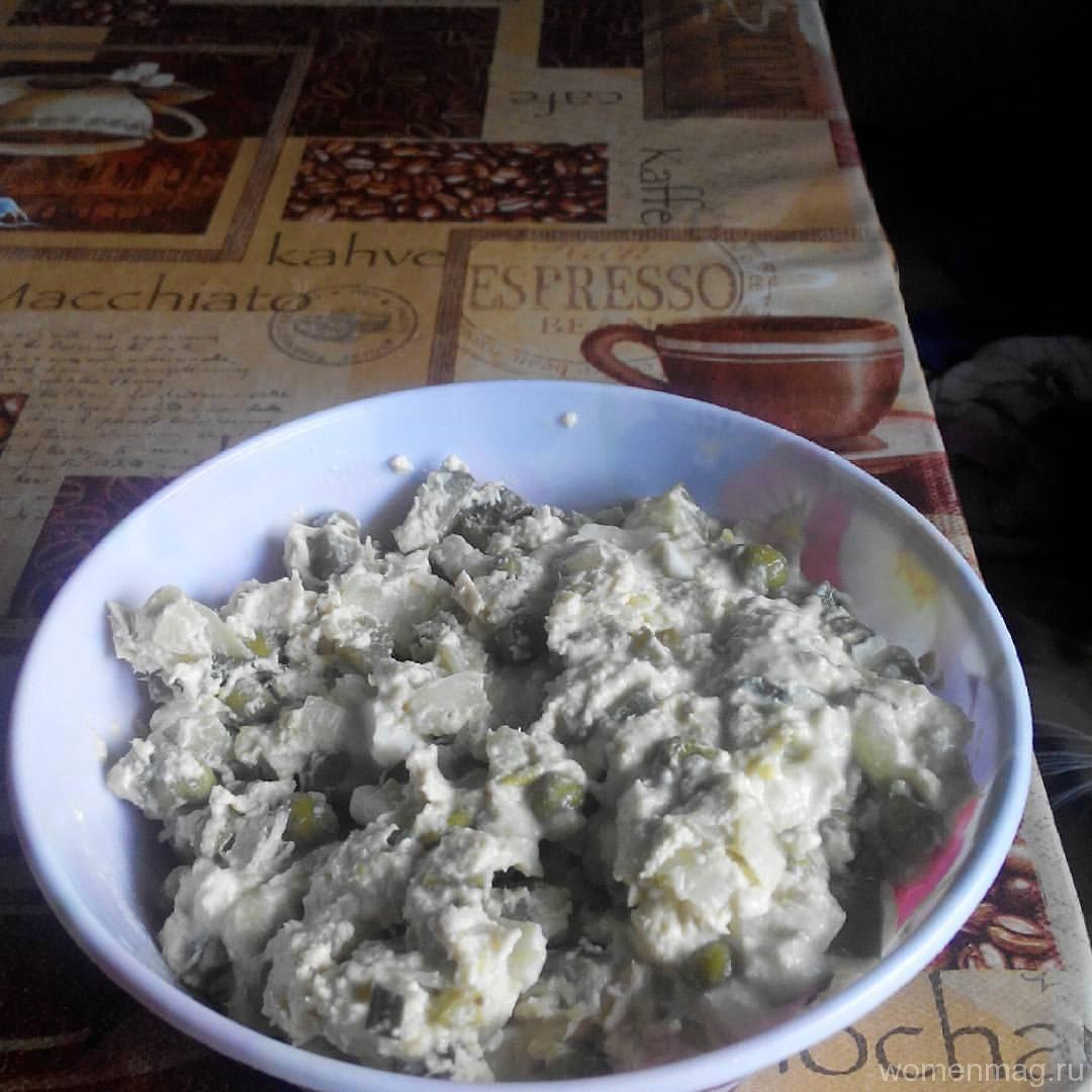 Диетический салат «Оливье»