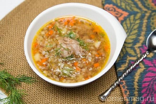 Куриный гречневый суп