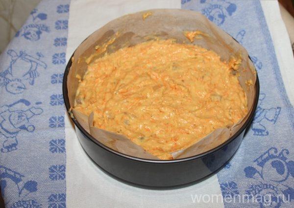 Американский морковный торт