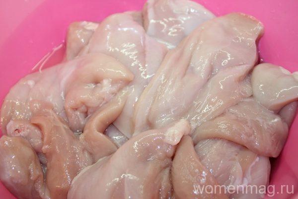 Отбивная из курицы