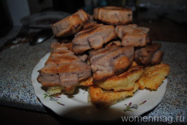 Печенье без молока в формочках в духовке