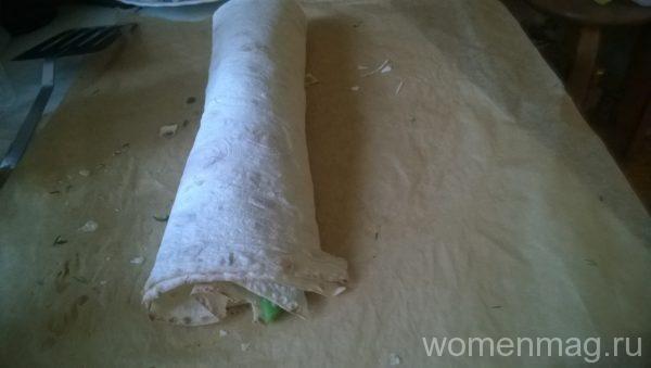 Вегетарианская шаверма