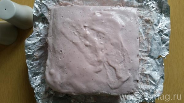 Бисквитный пирог с вишней
