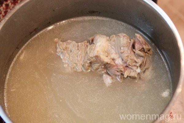 Как сварить борщ из капусты без свеклы рецепт