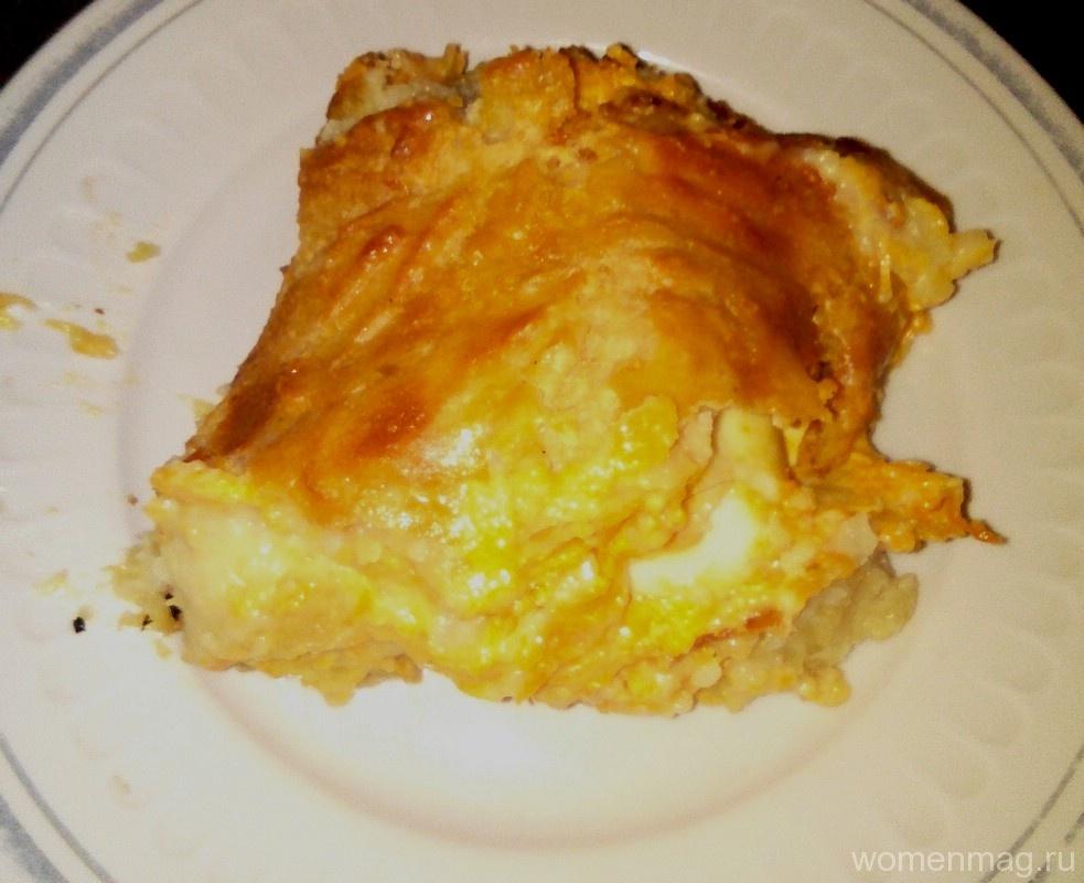 Картофельный рулет с морковью и яйцом в духовке