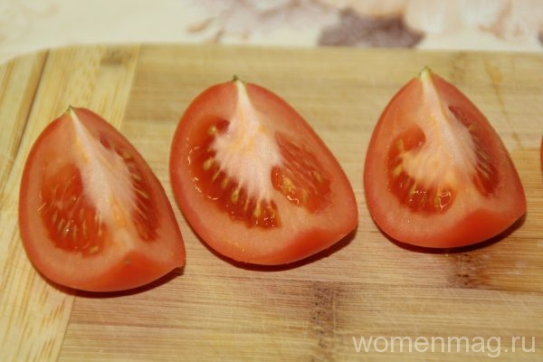 Кета, запеченная в духовке с овощами