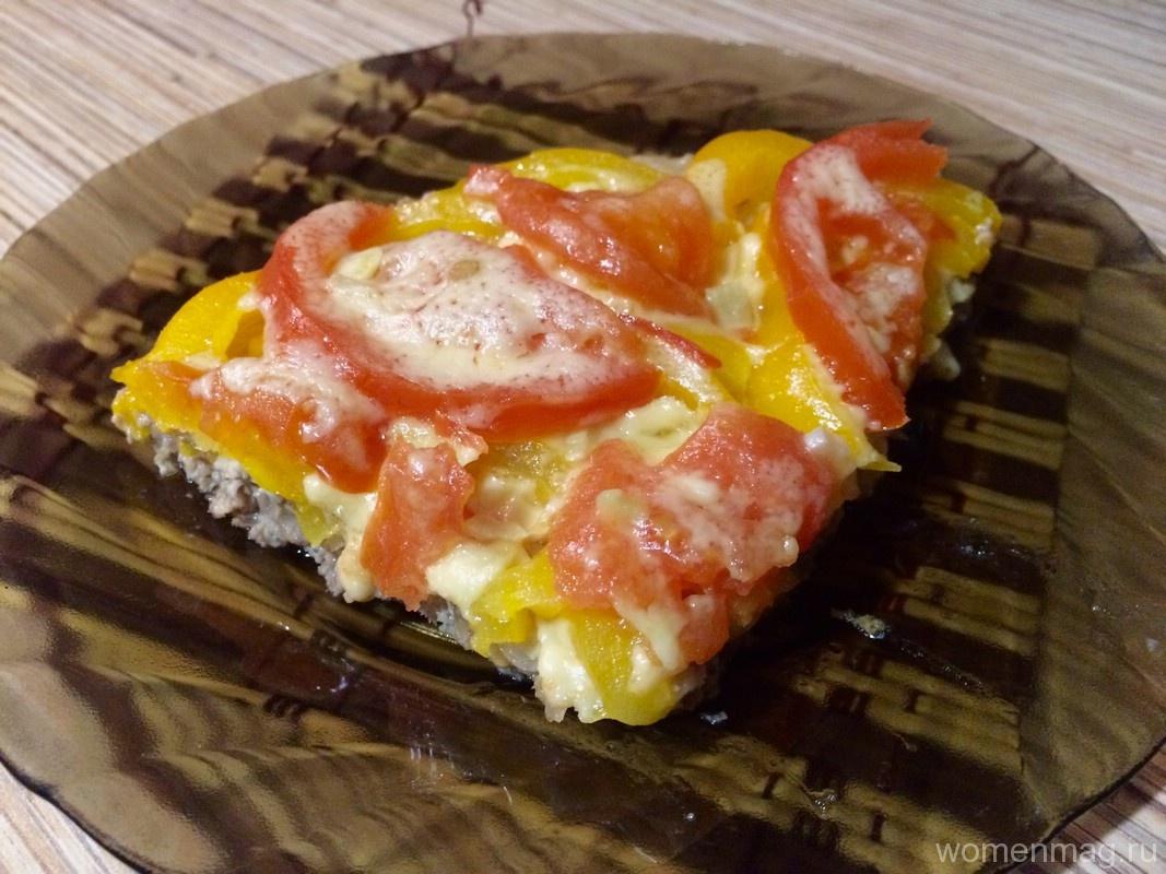 Мясная пицца без теста в мультиварке «Мицца»
