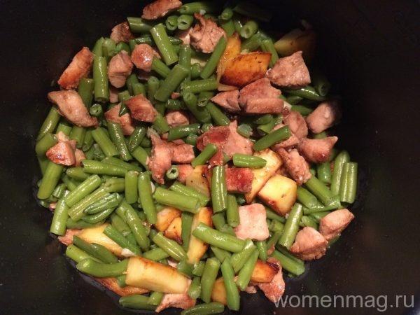Салат со стручковой фасолью рецепт с очень вкусный с