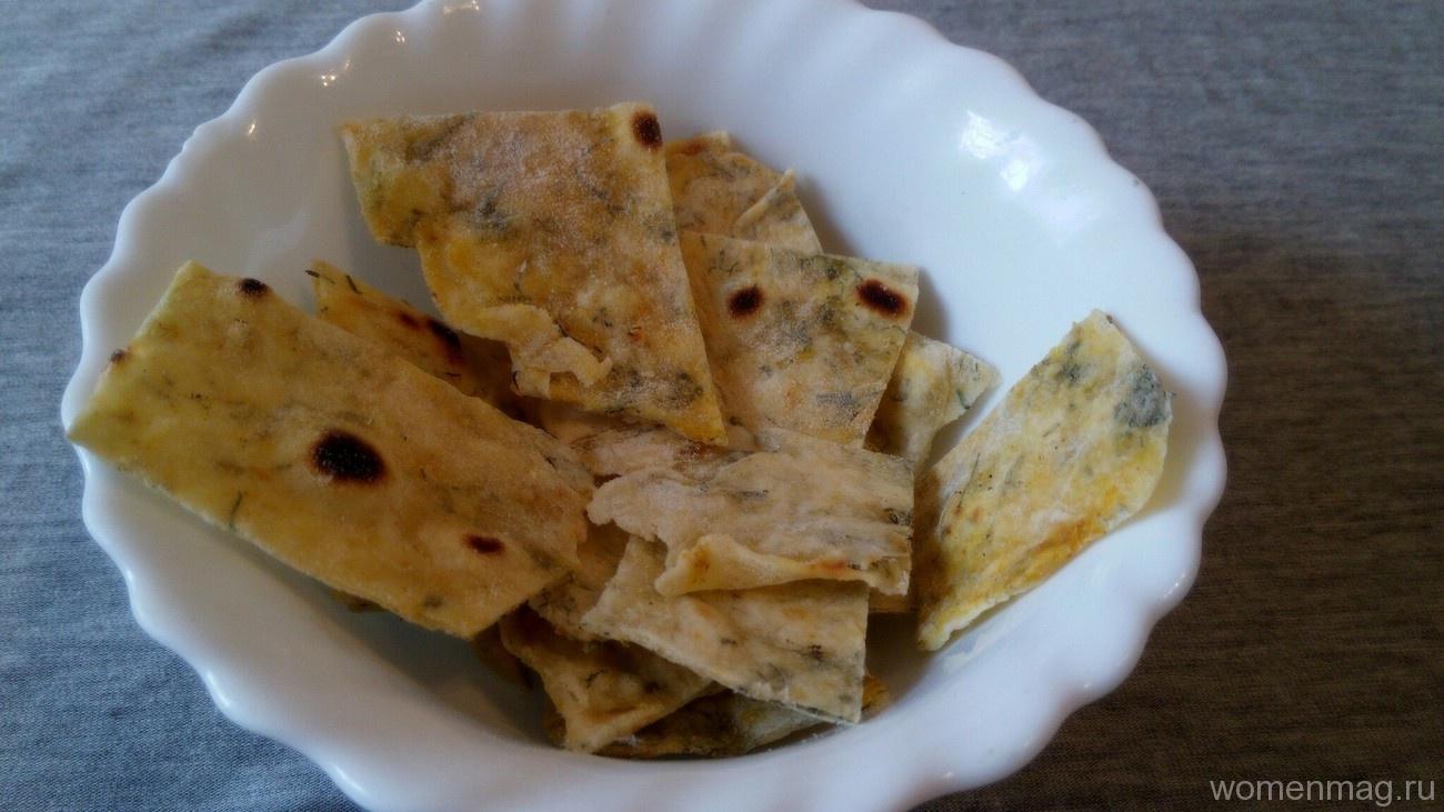 Рецепт чипсы из теста