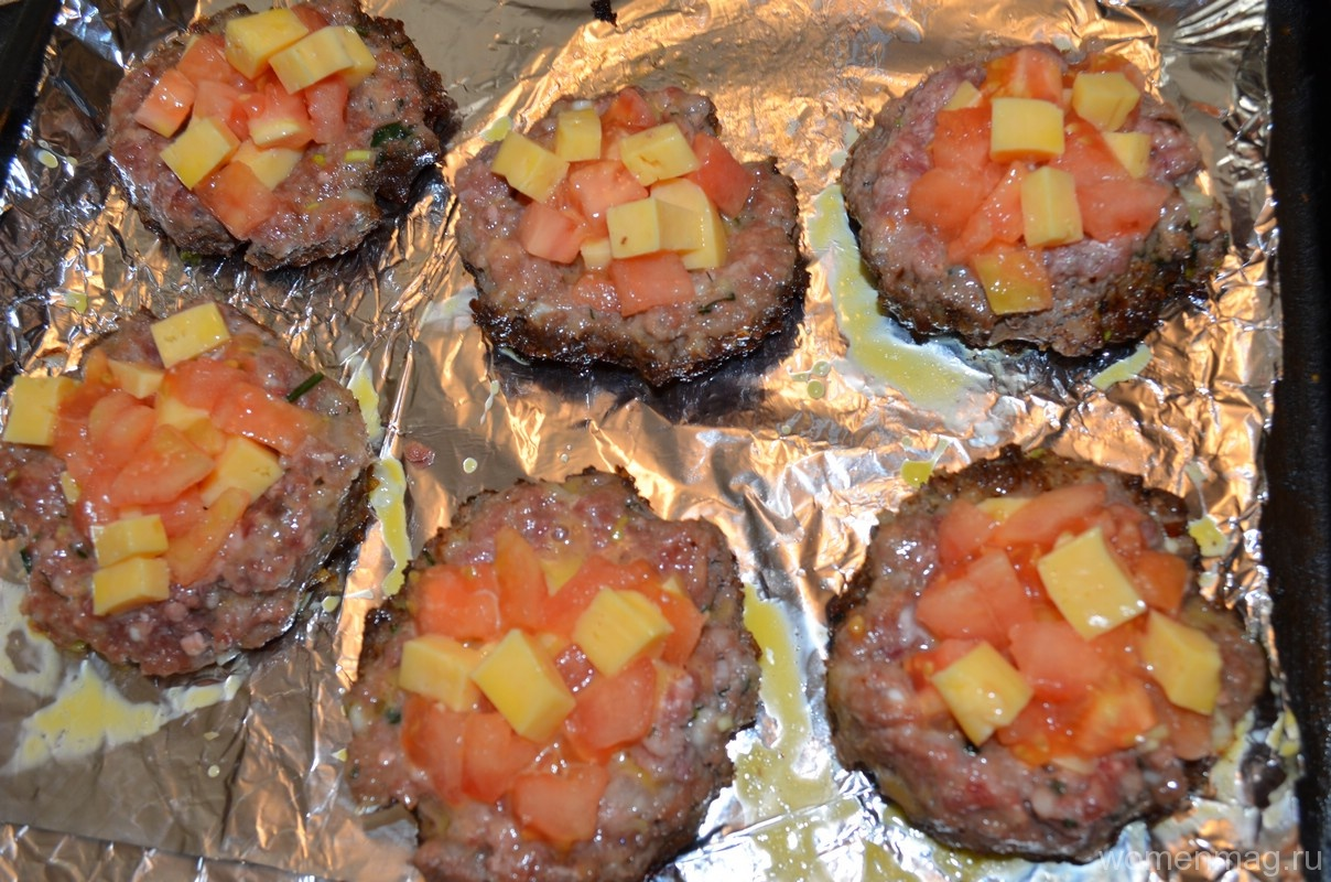 хлеб с сыром помидором в духовке рецепт