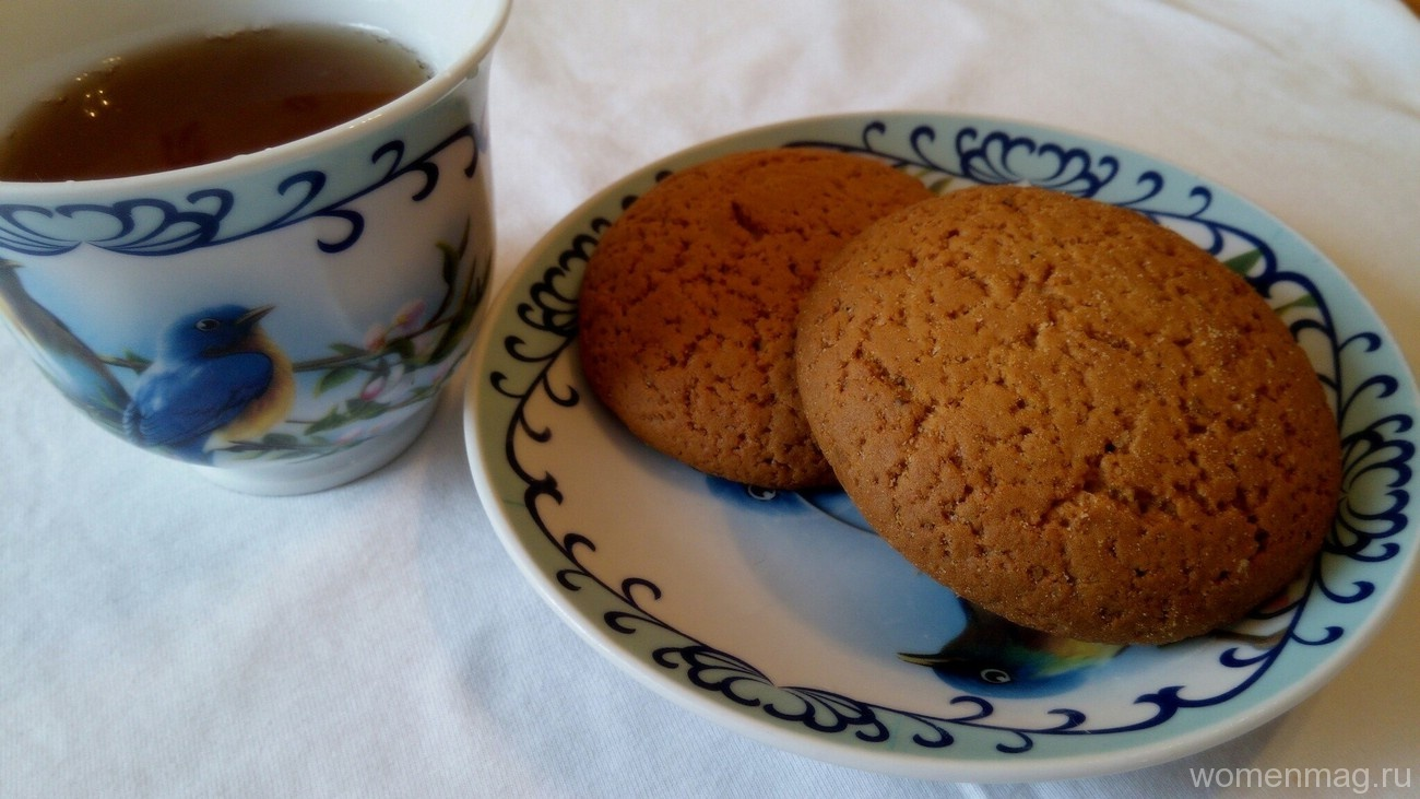 Рецепт печенья без яиц и молока с пошагово