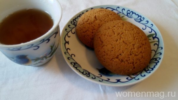 Печенье из овсяной муки рецепт с фото