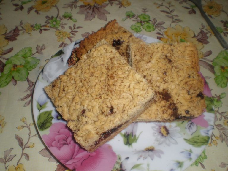 Тертый пирог с вареньем рецепт на маргарине