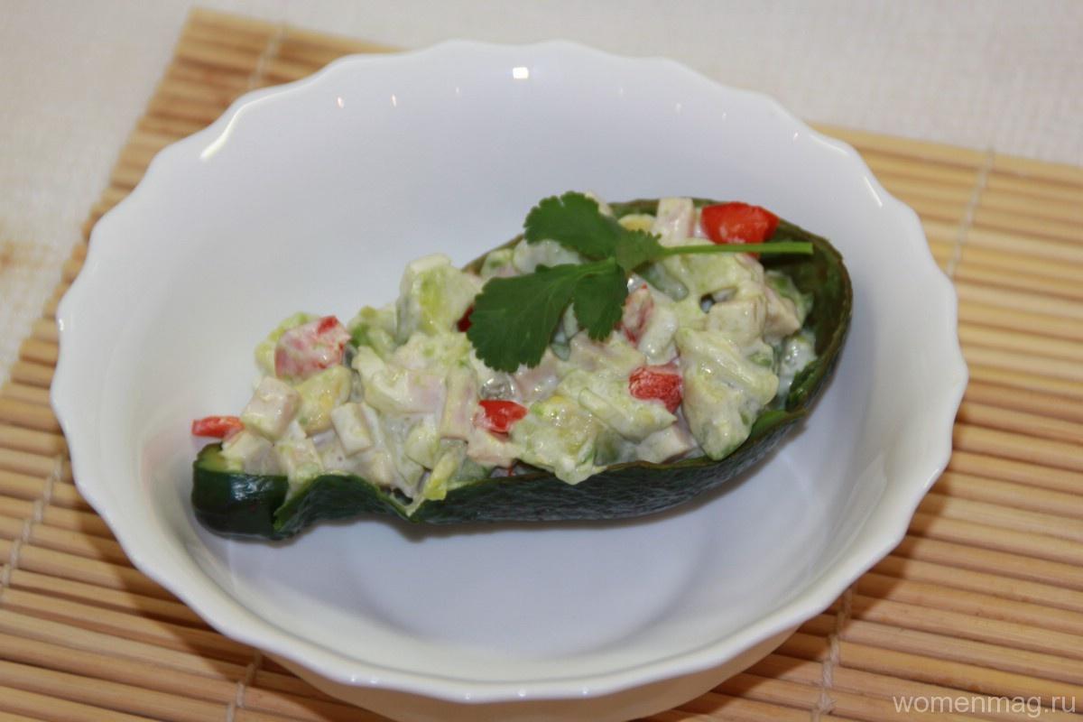Закуска из авокадо «Регата»