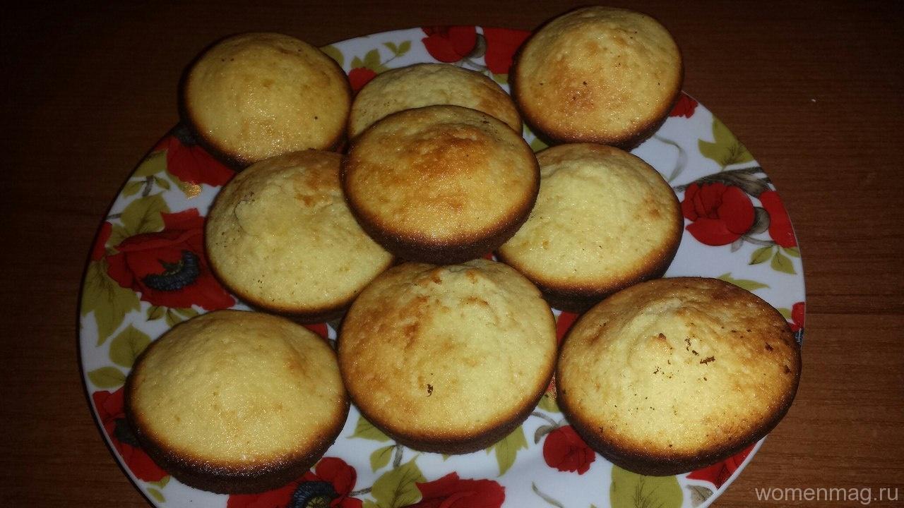 Лимонные кексы в духовке