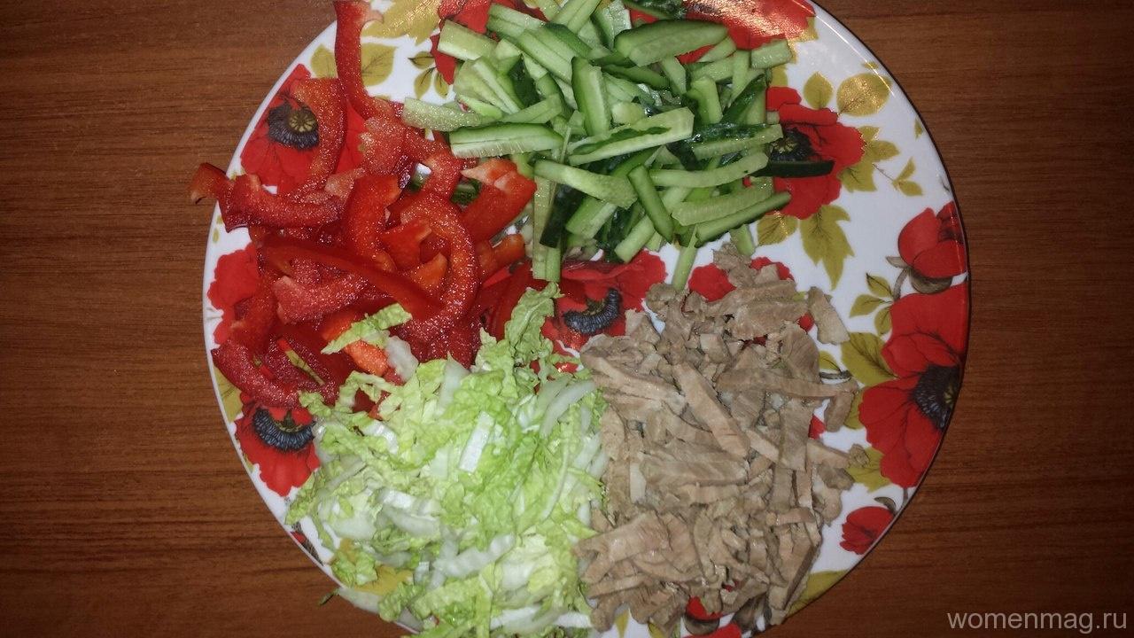 Салат козёл в огороде рецепт пошагово