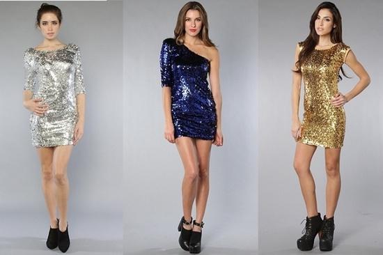 Новогодние платья 2014