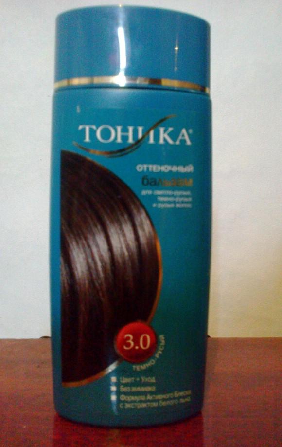Тоник для волос темно-русый