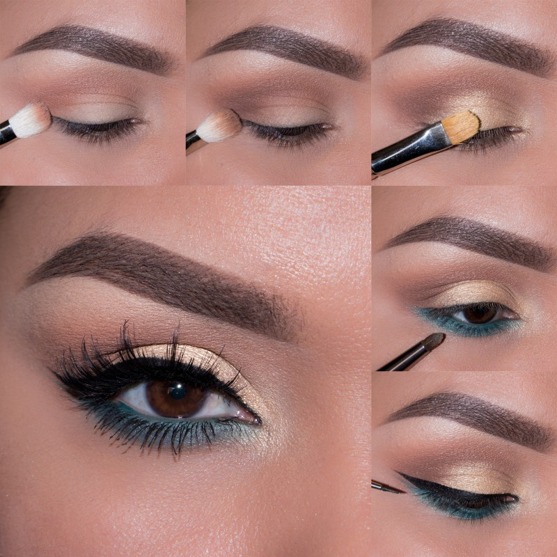 Пошаговый макияж картинки