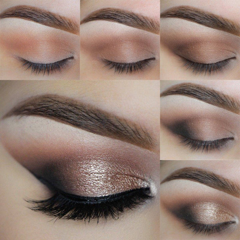 вечерний макияж пошаговая инструкция с фото недорого