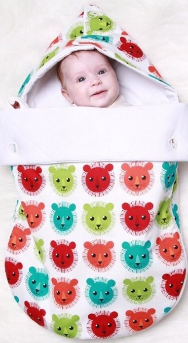 Конверт для новорожденного теплый своими руками